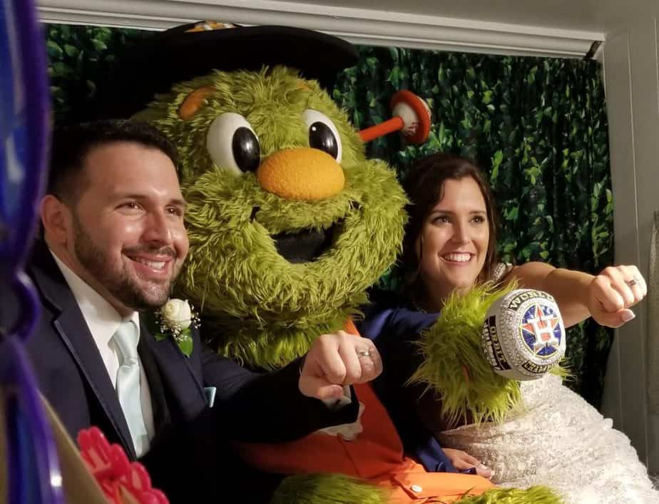 Orbit surprises Bride at her Wedding Day